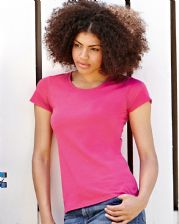 61372 Fruit Of The Loom Lady-Fit Valueweight T-Shirt